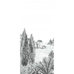 Papier peint Cyprès